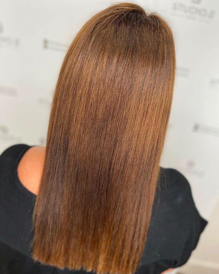keratin treatment example